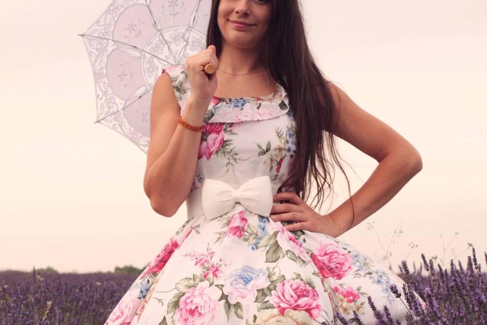 Des robes romantique