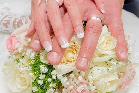 Bouquet rond, marjorie