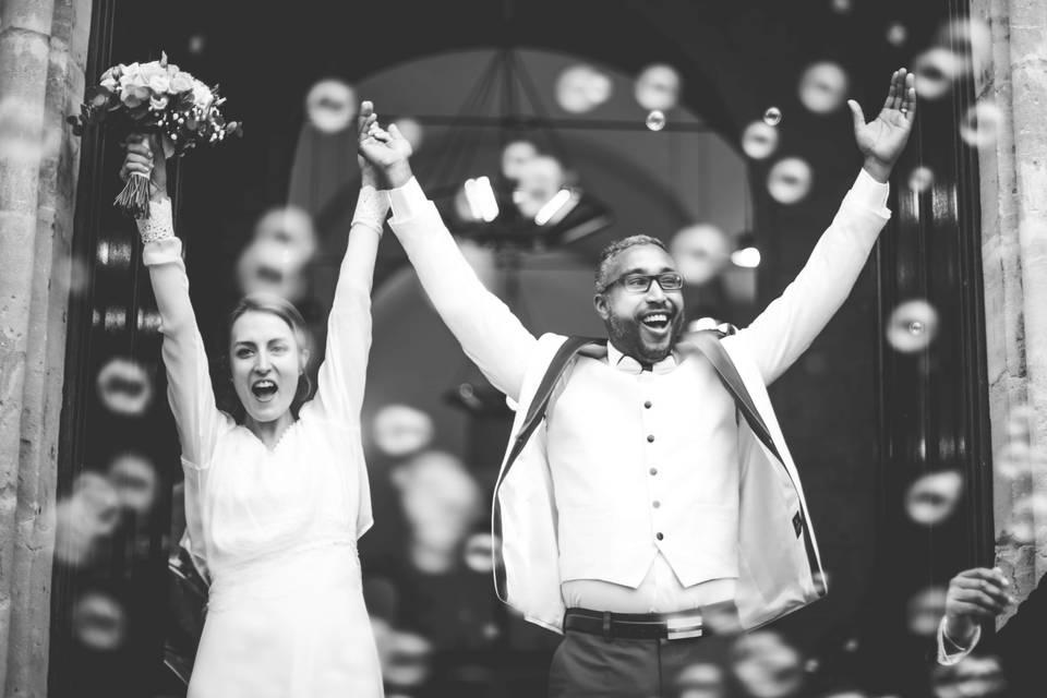 Mariage hivernal en Ile de France