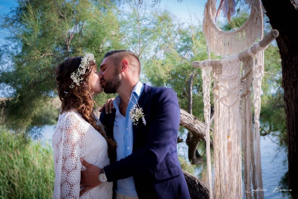 Photo couple mariage marseille