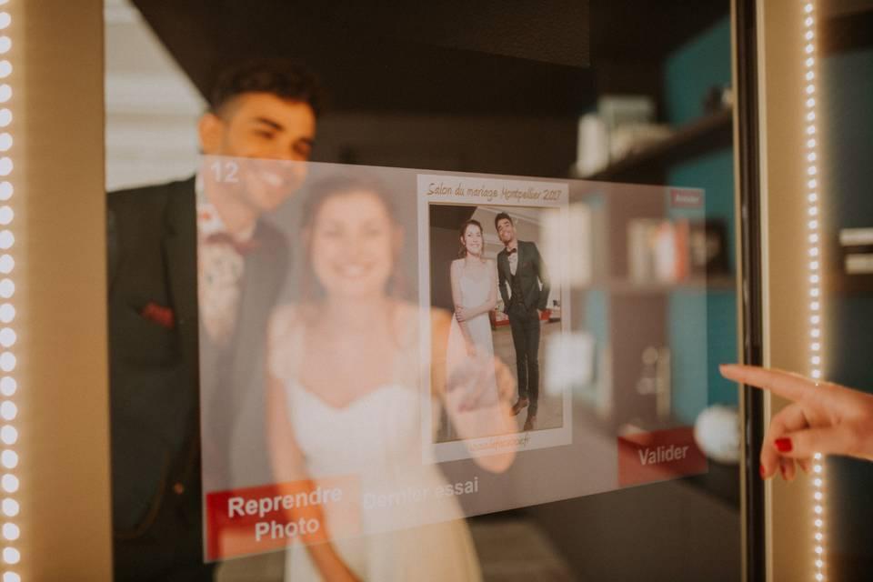 Photobox miroir