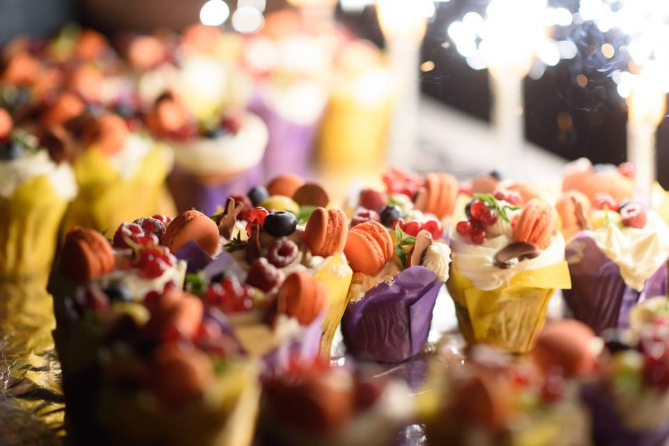 Cup cakes fruités