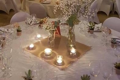 Table décoré