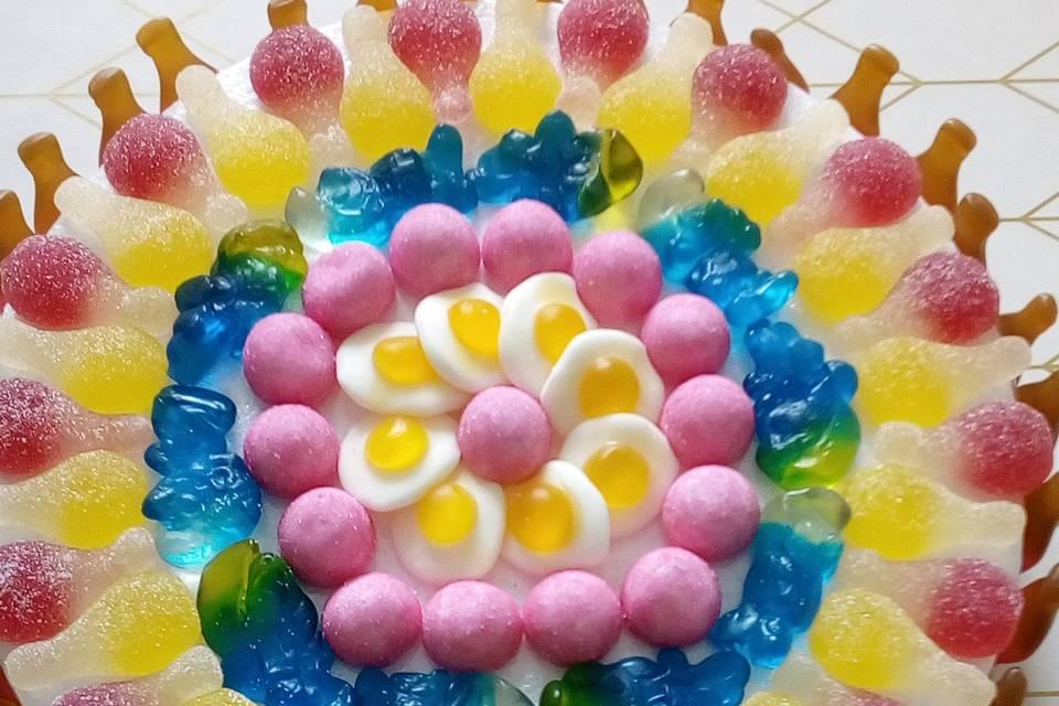 Tarte de bonbons
