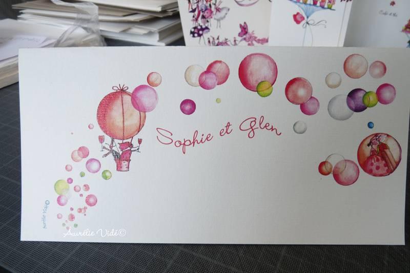 Les Faire-part Illustrés de Aurélie Vidé