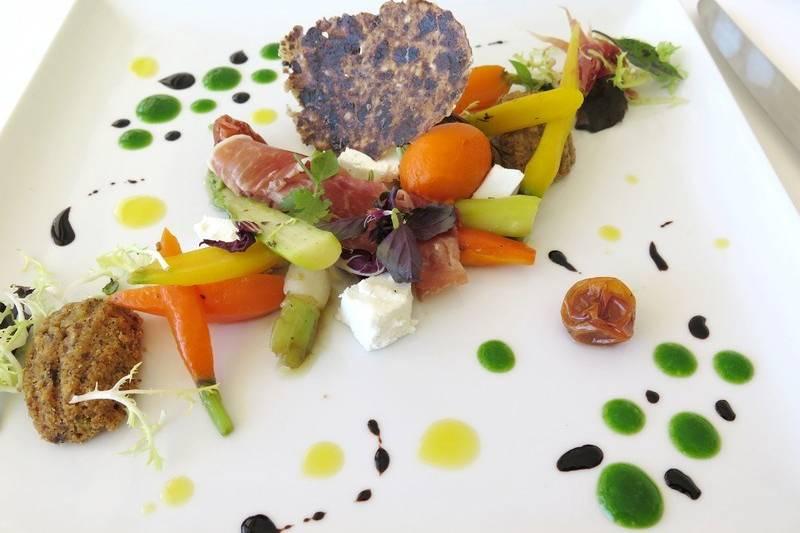 Assiette de légumes
