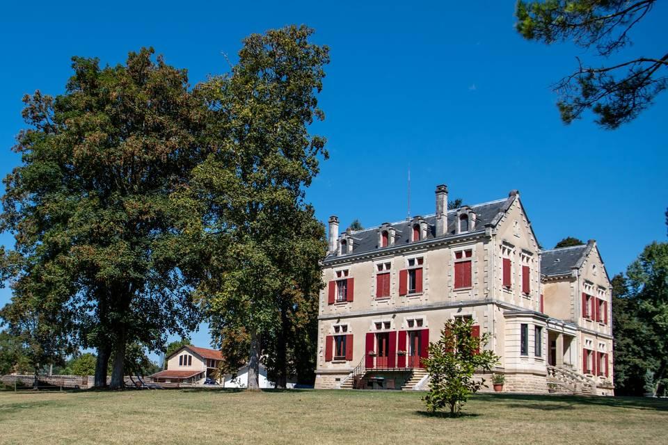 Château Vulcain extérieur