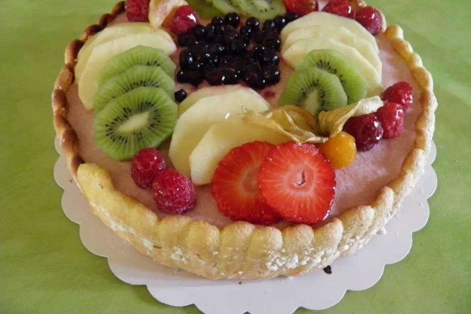 Charlotte aux fruits
