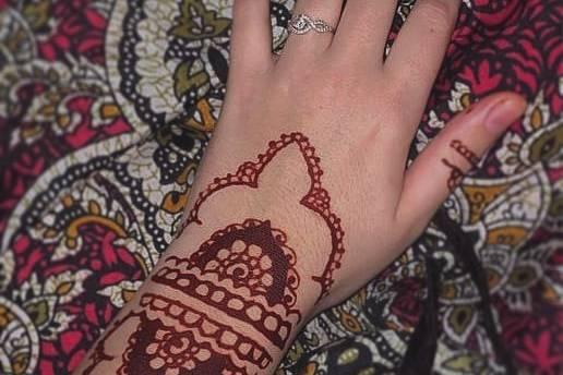 Henna rouge