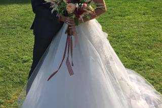 La mariée de Lol & Esté