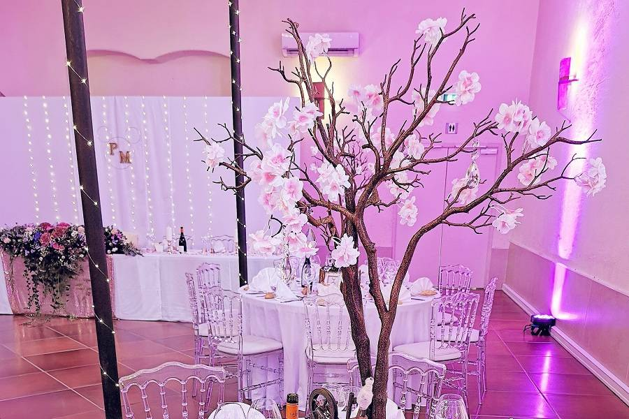 Table mariage M&P