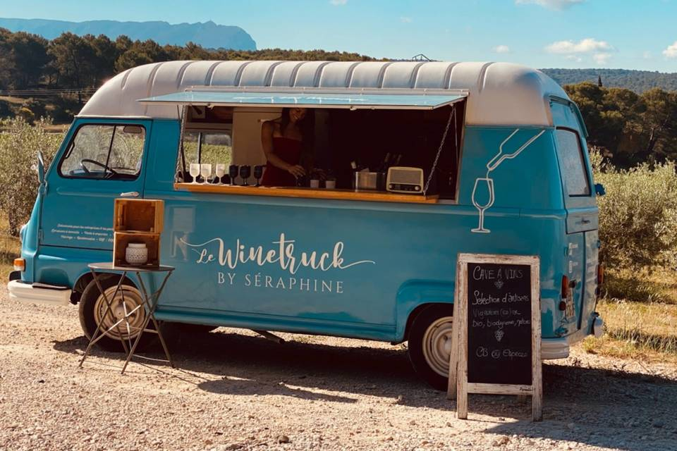 Le Wine Truck by Séraphine