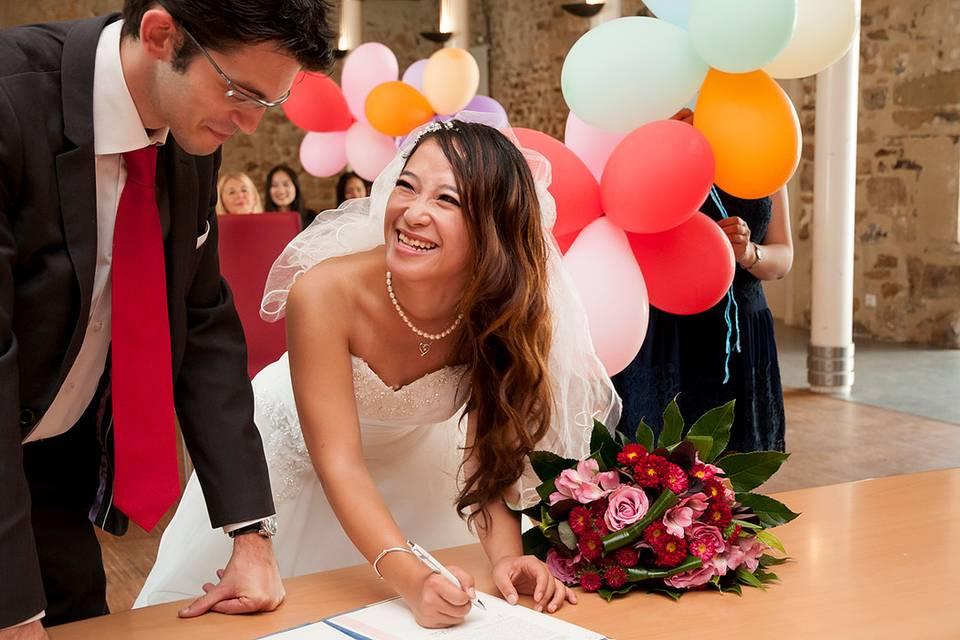 Mariage La mairie