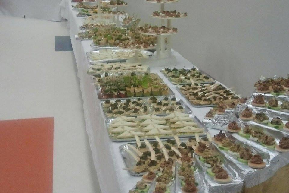 Un de nos nombreux buffets
