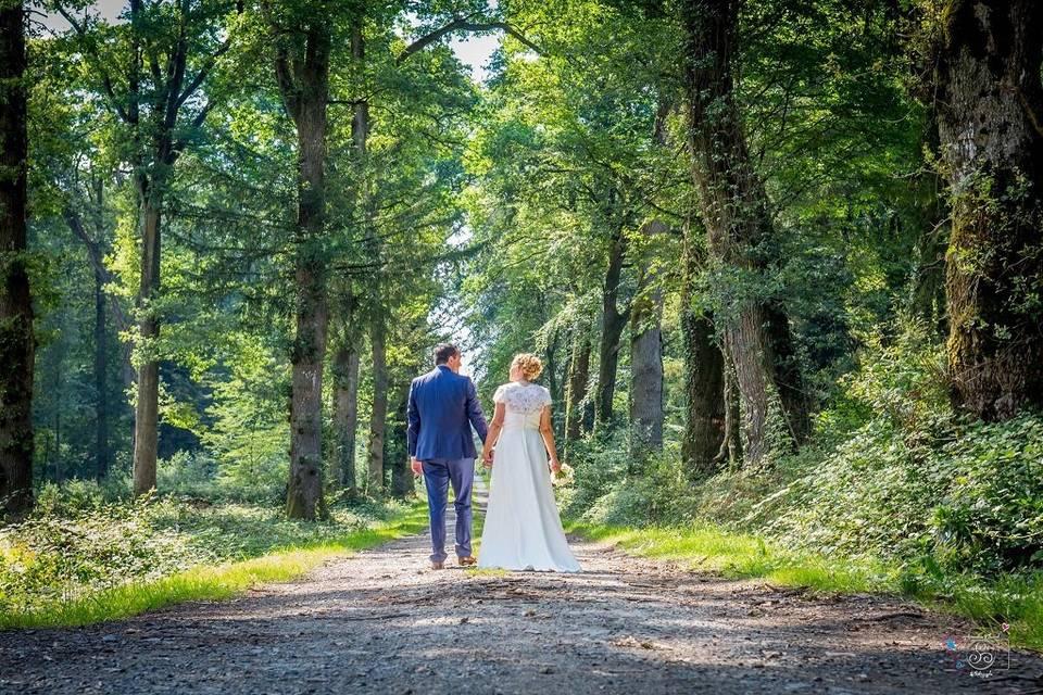 Chemin des mariés