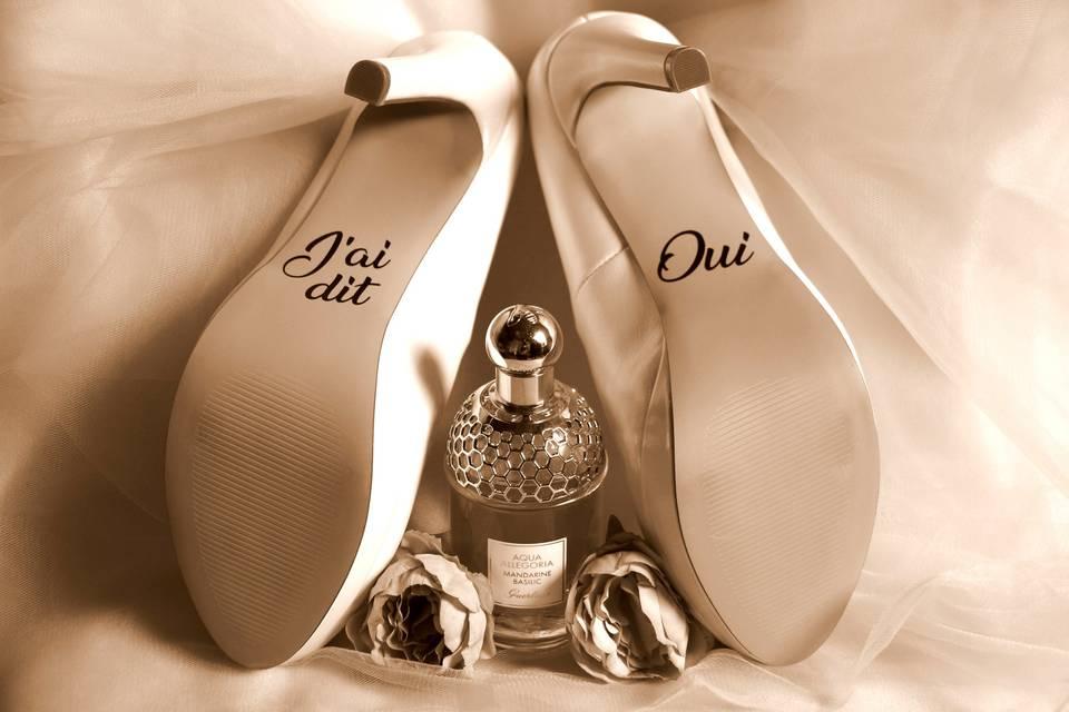 Les souliers de la mariée