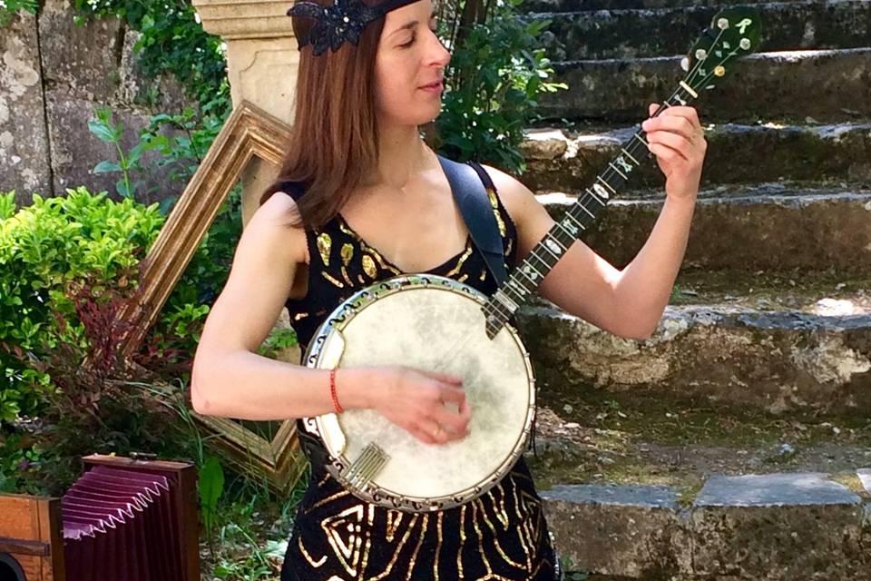 Rhythm banjo