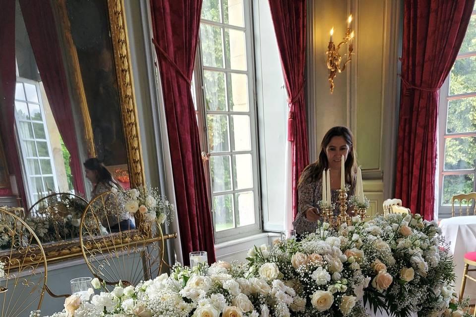 Décoration table  de mariée
