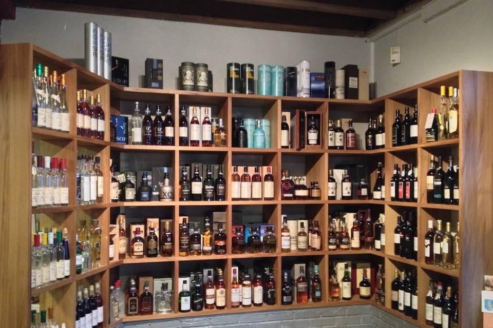 Whiskies & Spiritueux