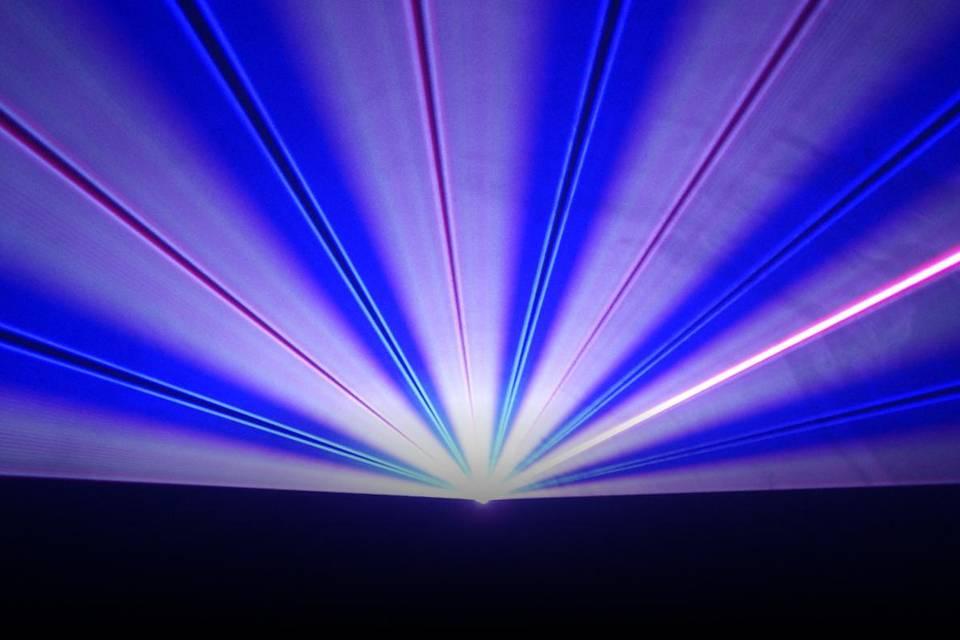 Normandie Laser show by Julien Levaufre