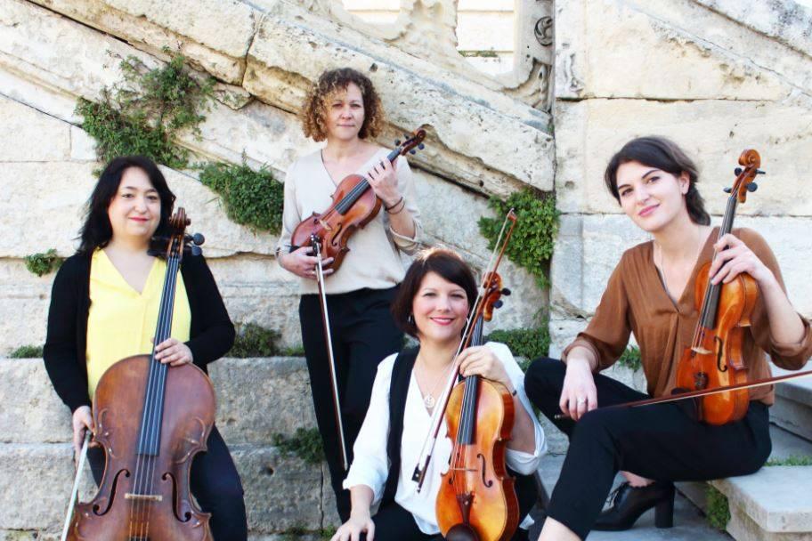 Quatuor en Cévennes