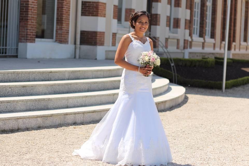 Mariée sur mesure