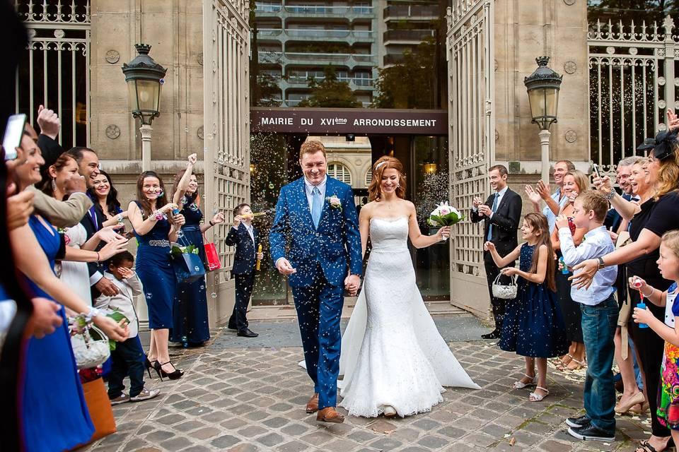 My wedding in Paris