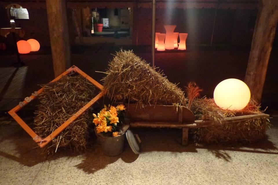 Mobilier lumineux, décoration