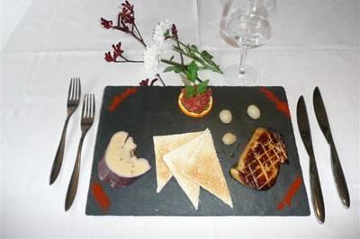 Plat restaurant Lourdes