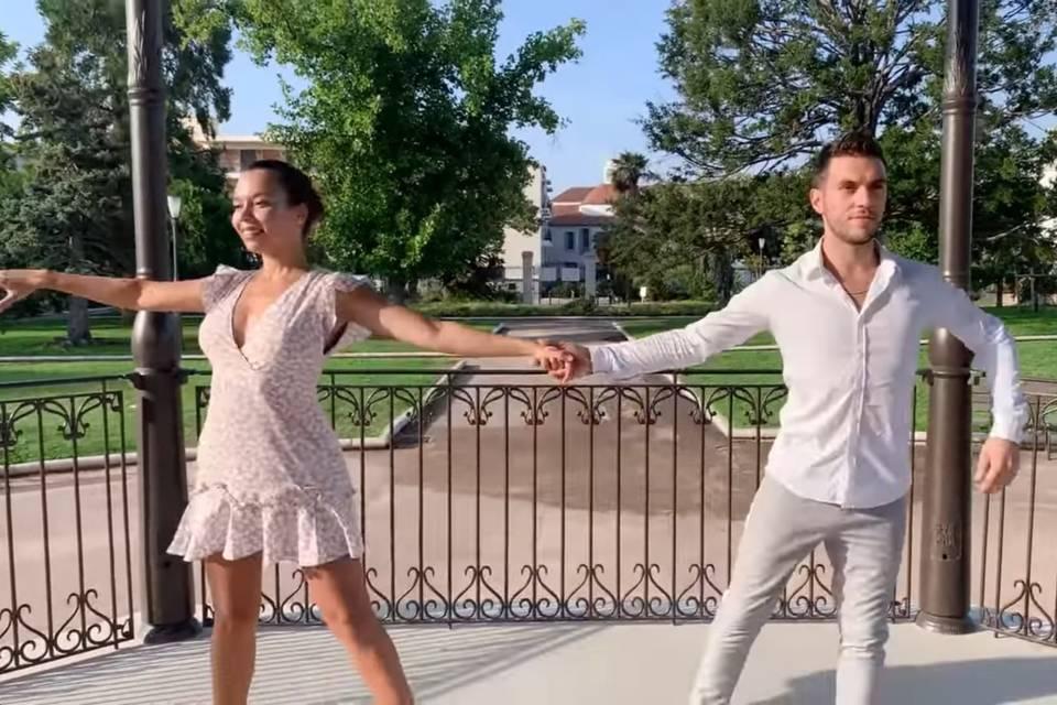 Premiere danse romantique