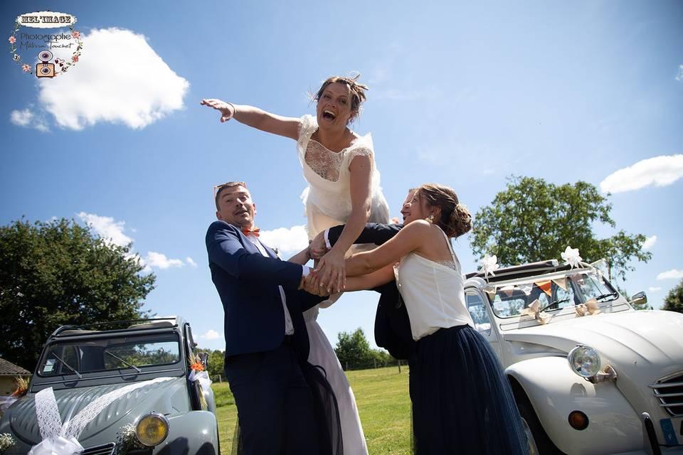 Lancer de mariée!