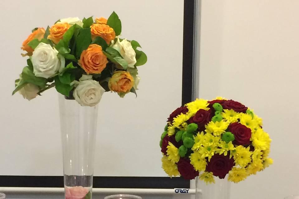 Bouquets rond variés