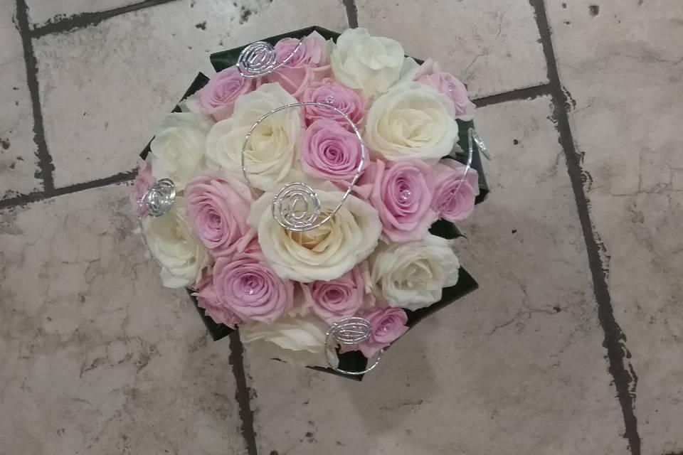 Bouquet mariée rond