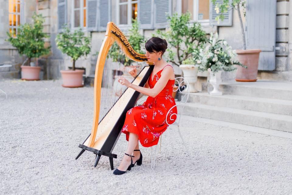 Charlotte Nenert - Harpe celtique