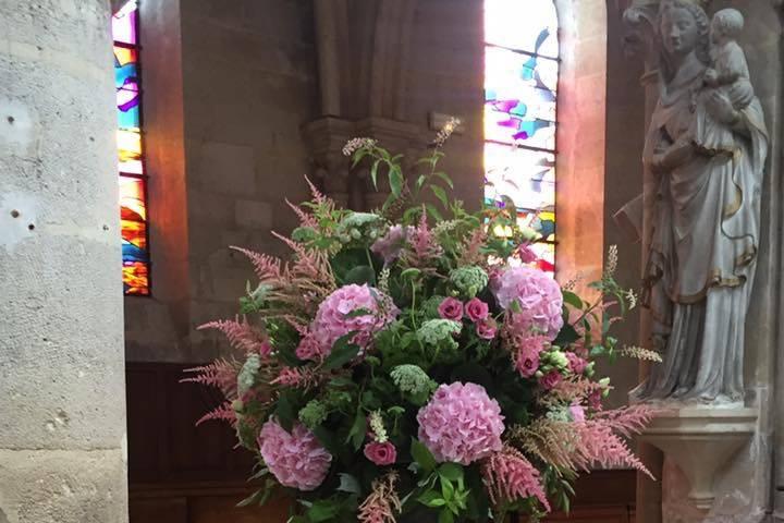 Bouquet église
