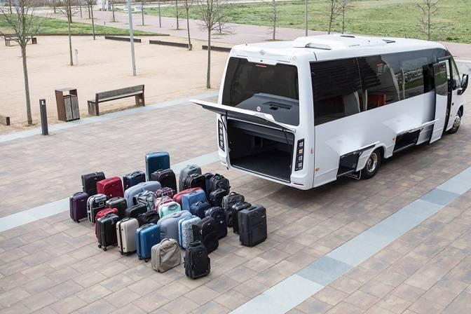 Jusqu'à 40 valises