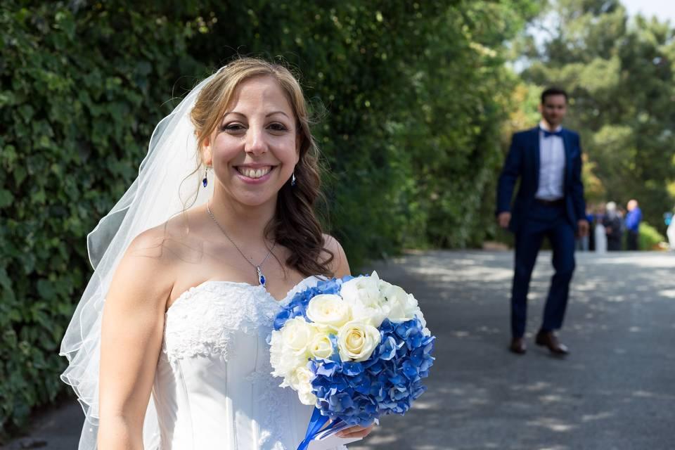 Maquillage mariée Samira