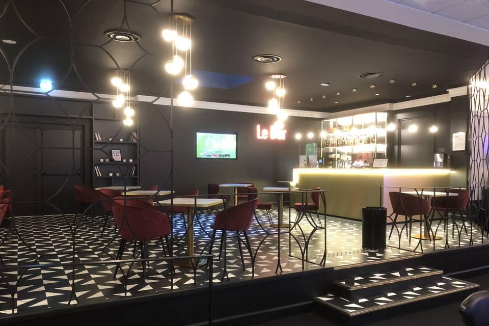 Bar salle de jeux