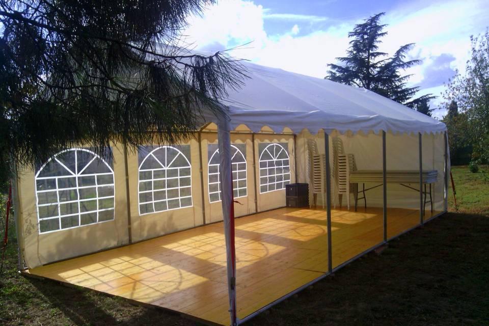Location de tente de réception