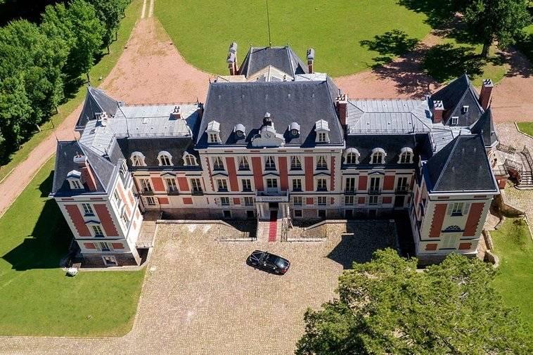 Panoramique du château
