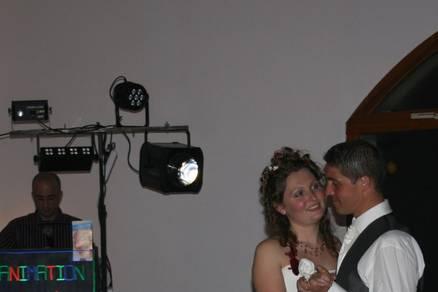 Cotilyon Animation mariés