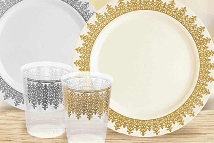 Deluxe Vaisselle Disposables