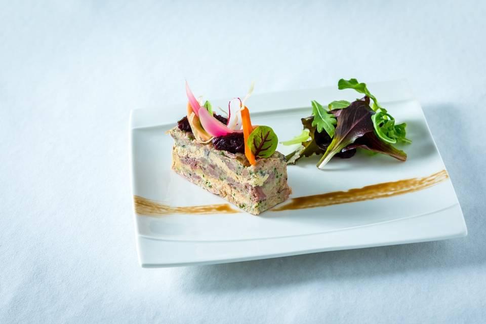Persillé de foie gras