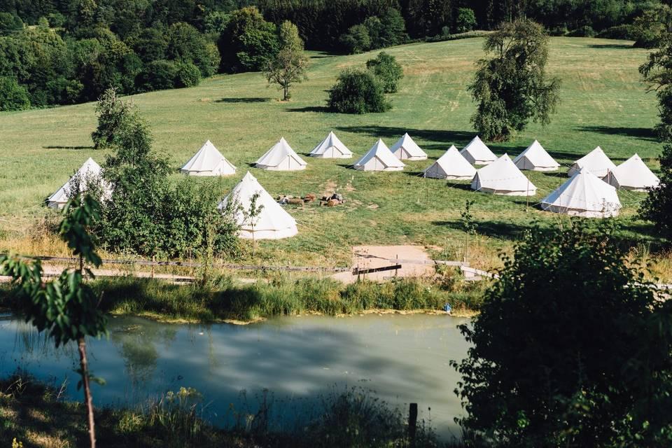 Wedding Camping en Alsace