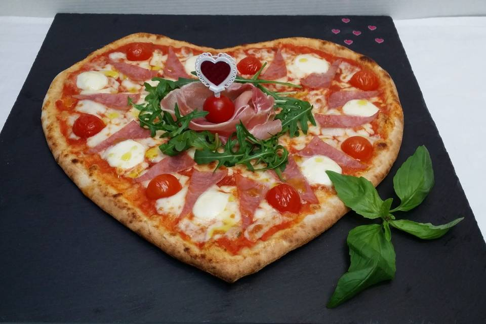 Pizza coeur 1