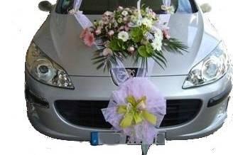 Exemple de décoration voiture Mariée
