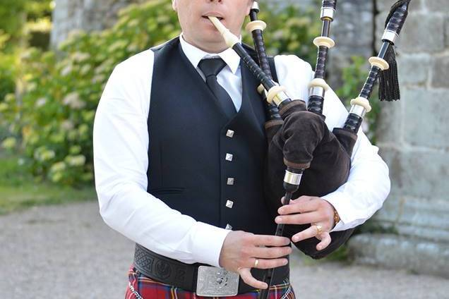 Damien  cornemuse écossaise