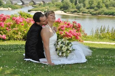 Le couple au bord de l'eau