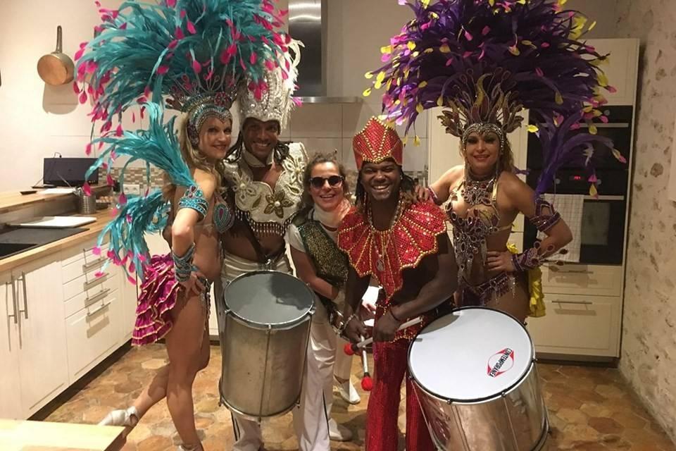 Groupe Beija Flor - Troupe brésilienne