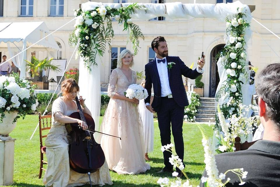 L'arche de mariage